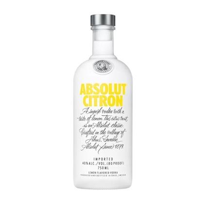 Absolut Citron vodka tax free on sale