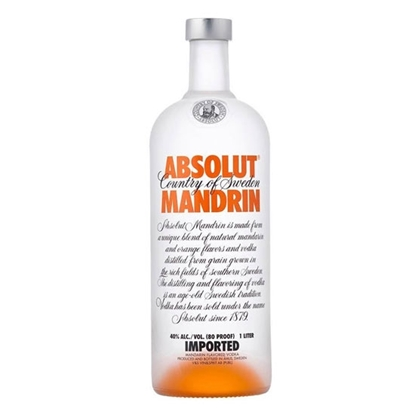 Absolut Mandarin vodka tax free on sale