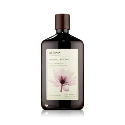 Ahava Mineral Botanic Shower Gel Hibiscus & Fig Womens cosmetics tax free on sale