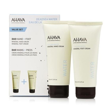 Ahava Mineral Foot Cream Set Womens cosmetics tax free on sale