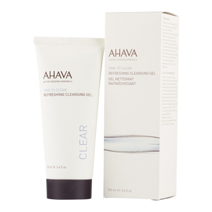 Ahava Time To Clear Refreshing Cleansing Gel Womens cosmetics tax free on sale