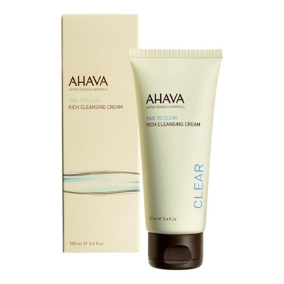 Ahava Time To Clear Rich Cleansing Cream Womens cosmetics tax free on sale
