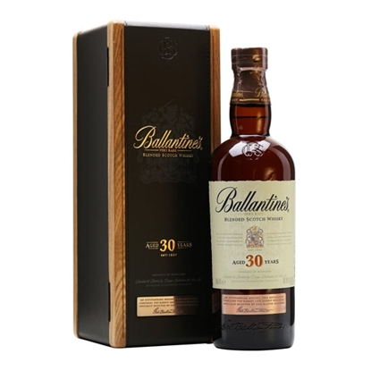 Ballantines 30 Year Old whisky tax free on sale
