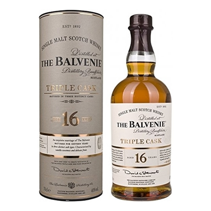 Balvenie Triple Cask 16 Year Old whisky tax free on sale