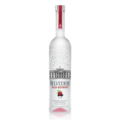 Belvedere Black Raspberry vodka tax free on sale