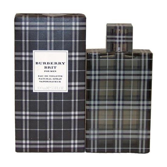Burberry Brit mens perfumes tax free on sale