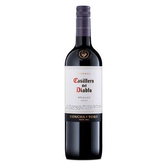 Casillero Del Diablo Merlot red wines tax free on sale