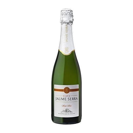 Cava Jaume Serra Semi Seco sparkling wines tax free on sale