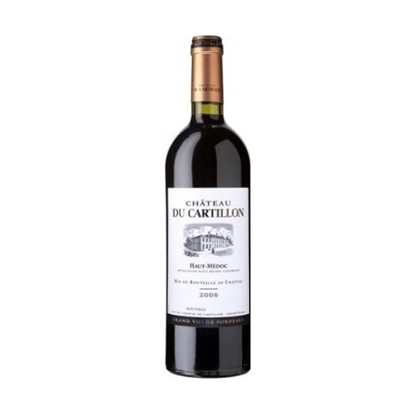 Château Du Cartillon Haut Médoc red wines tax free on sale