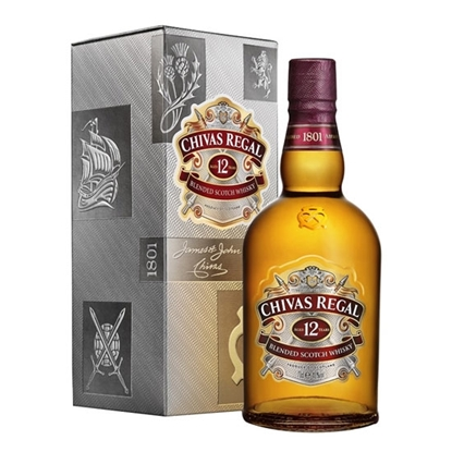 Chivas Regal 12 Year Old whisky tax free on sale