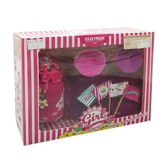 Clayeux Girl & Cupcake children perfumes tax free on sale