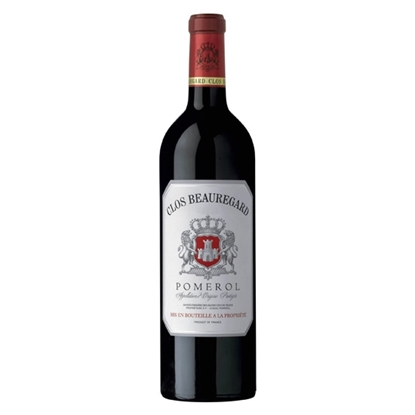 Clos Beauregard Pomerol 2011 red wines tax free on sale