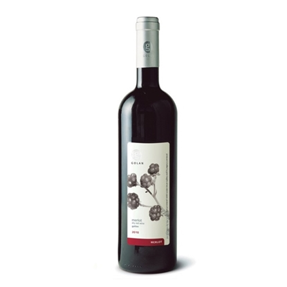 Golan Merlot red wines tax free on sale