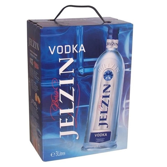 Jelzin vodka tax free on sale