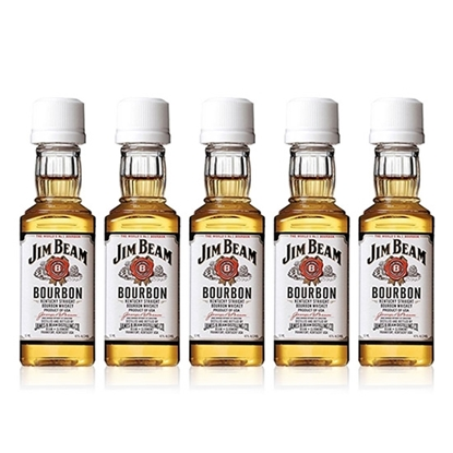 Jim Beam White Label Miniature whisky tax free on sale