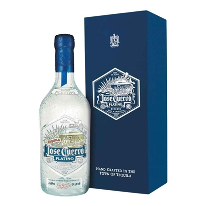 Jose Cuervo Platino tequila tax free on sale