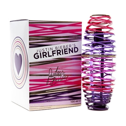 Justin Bieber Girlfriend Spray Women perfumes tax free on sale