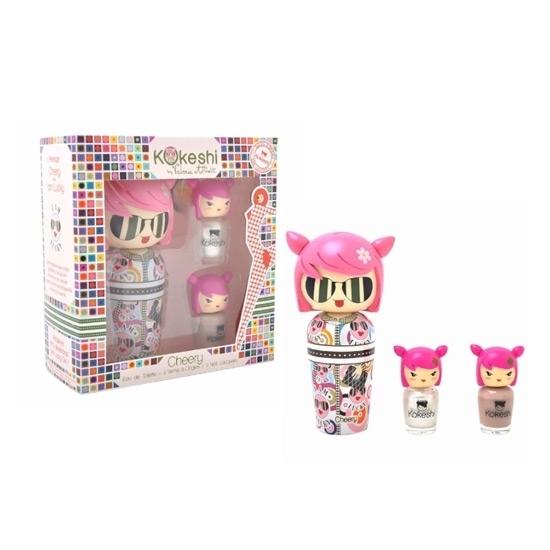 Kokeshi Cheery Nail children perfumes tax free on sale
