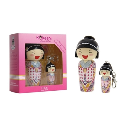 Kokeshi Lotus Key Ring children perfumes tax free on sale
