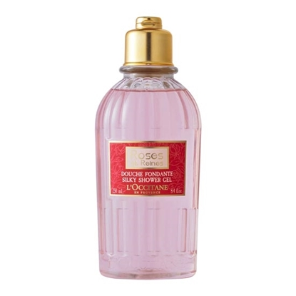 LOccitane Four Reines Rose Shower Gel Womens cosmetics tax free on sale