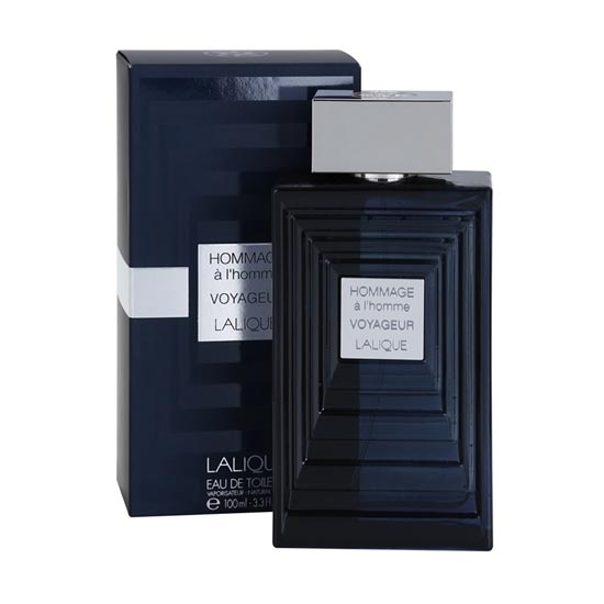 Lalique Hommage a Lhomme Voyageur mens perfumes tax free on sale