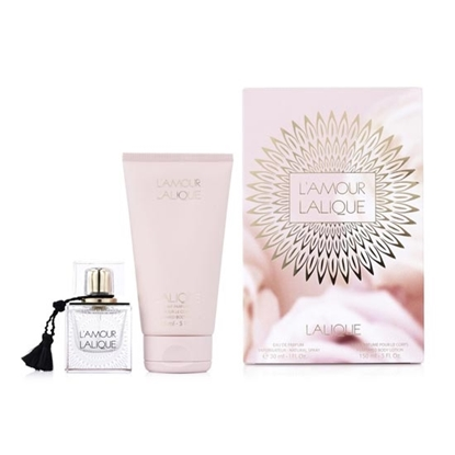 Lalique Satine 2013 Christmas Set Women perfumes tax free on sale