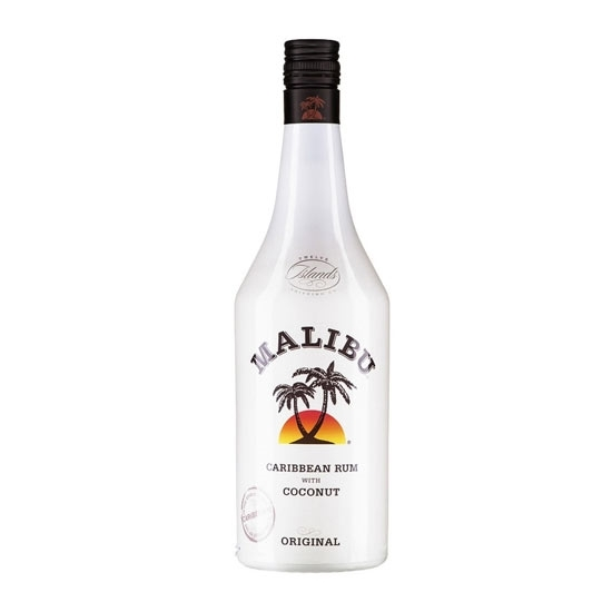 Malibu Caribbean Coconut rum tax free on sale