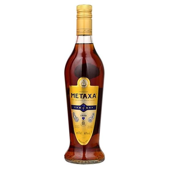 Metaxa 7 Stars Amphora brandy tax free on sale