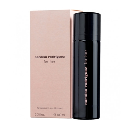 Narciso Rodriguez For Her Deodorant Spray Womens cosmetics tax free on sale