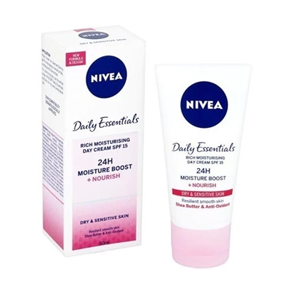 Nivea Visage Vital Triple Action Soy Replenishing Day Care Womens cosmetics tax free on sale