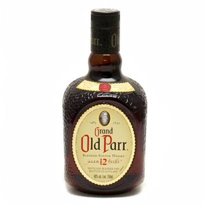 Old Parr 12 Year Old whisky tax free on sale
