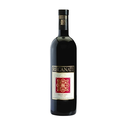 Recanati Merlot Reserve red wines tax free on sale