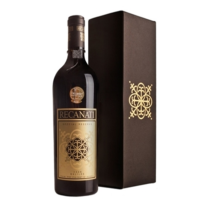Recanati Special Reserve red wines tax free on sale