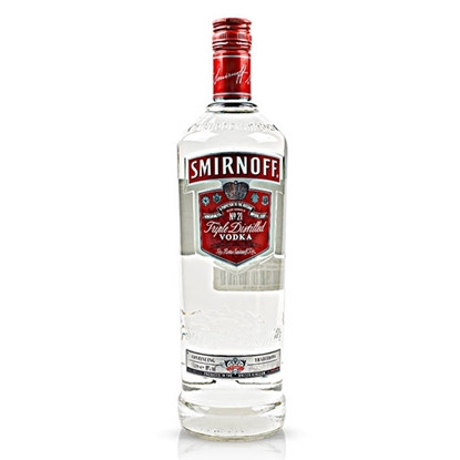 Smirnoff Red Label vodka tax free on sale