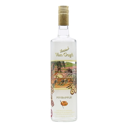 Van Gogh Pineapple vodka tax free on sale