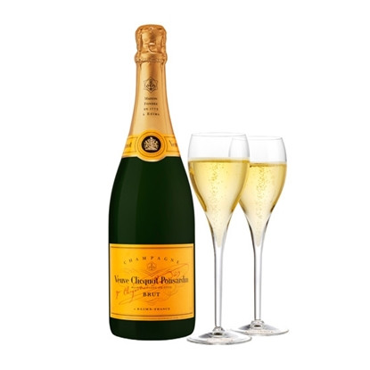 Veuve Clicquot Ponsardin Brut champagne tax free on sale