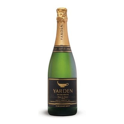 Yarden Blanc De Blancs Brut sparkling wines tax free on sale