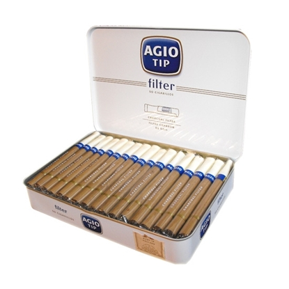 agio tip filter cigars tax free on sale