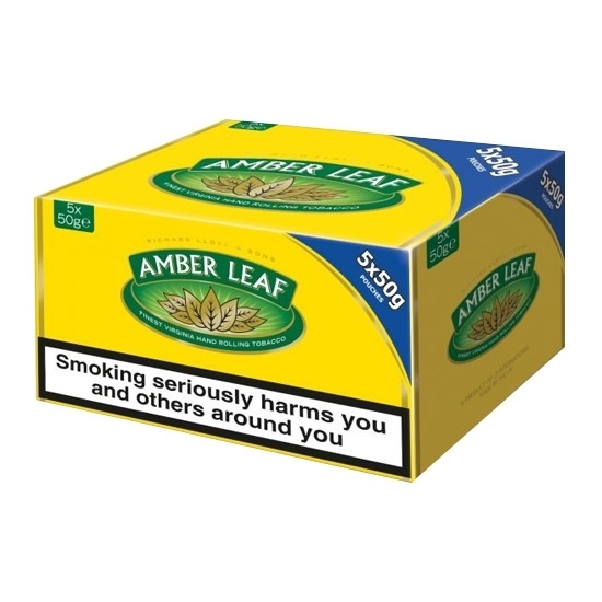 amber leaf tobacco tax free on sale