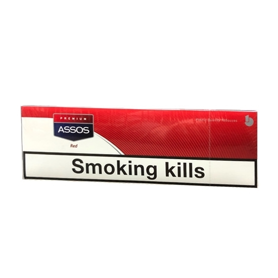 Assos Red Cigarettes tax free on sale