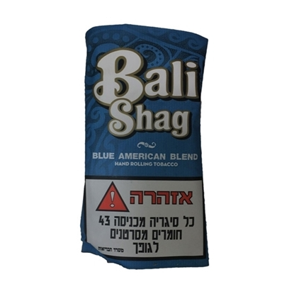 Bali Shag Blue American Blend hand rolling tobacco tax free on sale - Duty Free Pro