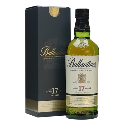 Ballantines 17 Years Old whisky tax free on sale