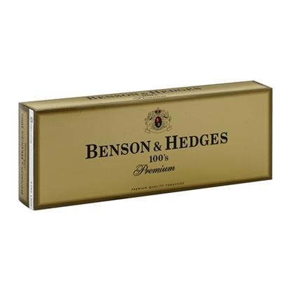 Cheap Benson & Hedges 100's Premium Cigarettes Tax Free on Sale - Duty Free Pro