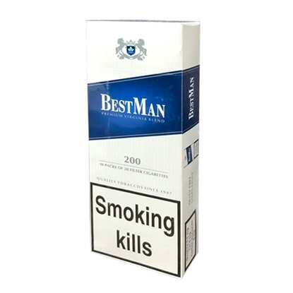 Best Man Blue 100's Cigarettes Tax Free on Sale - Duty Free Pro