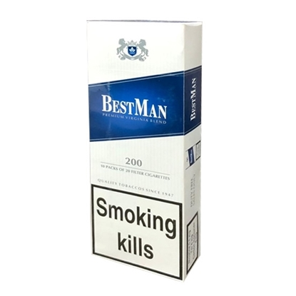 Cheap Best Man blue Cigarettes Tax Free on Sale - Duty Free Pro