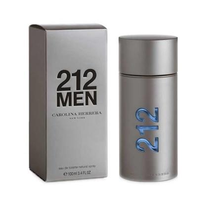 carolina herrera 212 men eau de toilette spray 100 ml 3 4 oz  tax free on sale