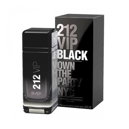 Carolina Herrera 212 VIP Black mens perfumes tax free on sale