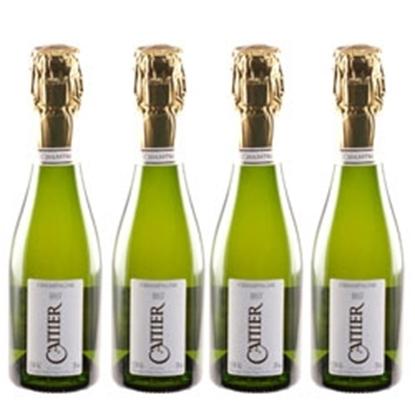 cattier champagne brut 4x200 ml tax free on sale
