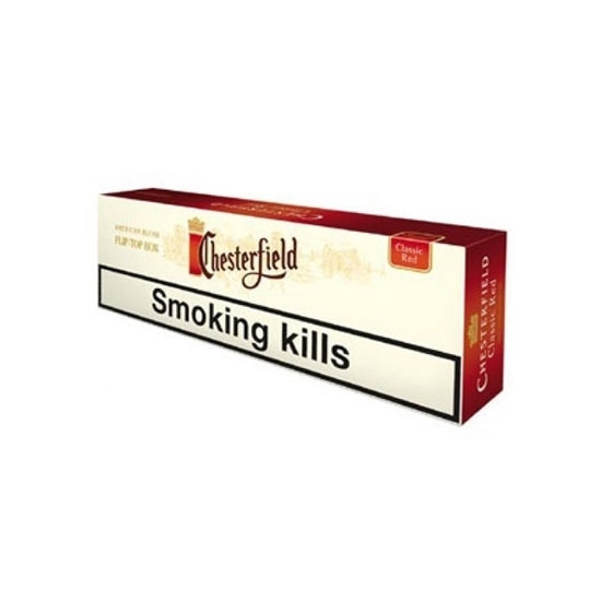 Chesterfield Classic Red Cigarettes Tax Free on Sale - Duty Free Pro