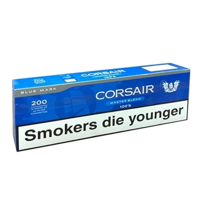 Cheap Corsair 100 Blue Cigarettes Tax Free on Sale - Duty Free Pro